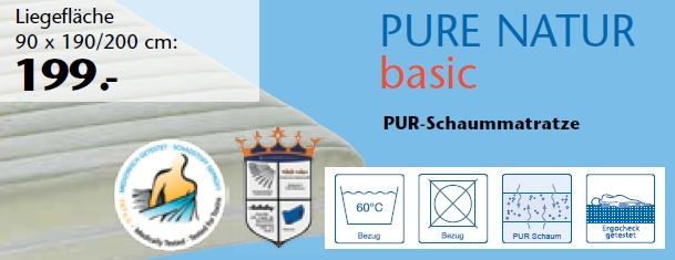 PURE NATUR basic