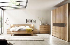Schlafzimmermöbel aus der Serie Riva