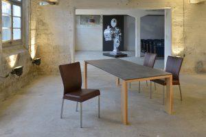Tisch Olympia Innbruck WE mit Stuhl Roma